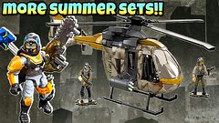 INCREDIBLE New 2017 Summer Sets | Mega Construx Call of Duty and Destiny | BrickNews Ep47 (ChewyBricksTV) Tags: mega construx bloks destiny callofduty cod call duty summer sets 2017 aspect glass cabal goliath tank urban copter helicopter
