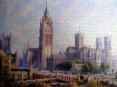 Design for Westminster (pefkosmad) Tags: jigsaw puzzle westminster fine art painting pomegranate hobby leisure pastime