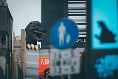 Shinjuku 新宿哥吉拉|東京都 Tokyo (里卡豆) Tags: 新宿哥吉拉 東京 東京都 tokyo 新宿 olympus epl8 75mm f18 shinjuku