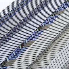 - diagonal - (Jacqueline ter Haar) Tags: diagonal offices square lines windows structure