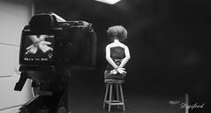 Making of  Hostage. (Digifred.nl) Tags: macromondays crime digifred 2017 nikond500 makingof macro misdaad ontvoering gijzelaar politie police crimescene pd plaatsdelict losgeld abduction kidnap hostage blackwhite blackandwhite bjd doll msd abjd balljointeddoll sd tiny asleepeidolon