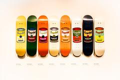 8 Tins (Sean Batten) Tags: london england unitedkingdom gb tatemodern tate skateboard deck andywarhol nokon df 50mm shop soup campbells