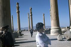 Found Photo - Iran - Persepolis - Archeological Site 24.tif (David Pirmann) Tags: iran ruins archeology persia persian unesco worldheritage xerxes parsa takhtejamshid achaemenid dpfoundphotoasia1976 persepolis