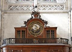 Saint-Omer (Pas-de-Calais) - Cathédrale Notre-Dame - Horloge astronomique (1558)