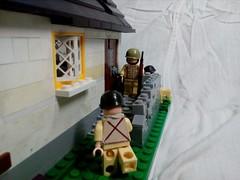 """Lego M. O. C. """"Battle for Caen"""" (A.V.V.) Tags: lego moc ww2 battleforcaen"""