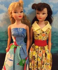 Vintage Uneeda Miss Suzette Dolls (The Dollhouse of Usher) Tags: dresses clone barbie 1962 suzette miss uneeda doll vintage