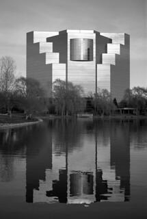 reflecting glass