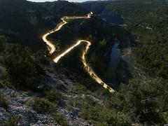 sur la route du barrage de Gréoux les bains (laurent gayte) Tags: laurentgayte olympus route barrage light poselongue verdon