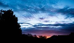 Colorado Sunrise 4/20/17 - Colorado Springs, CO (Kerstin Winters Photography) Tags: silhouette skyglory clouds d5500 flickrnature flickr landscape landschaft outdoor farben colors colorado morgenhimmel sky nikkor nikondigital nikondsl nikon naturfotografie sonne sonnenaufgang sun sunrise