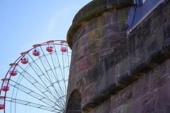 new brighton Perch Rock and the wheel (davegore2005) Tags: newbrighton