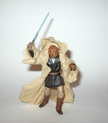 VC49 fi-ek sirch jedi knight star wars the vintage collection star wars attack of the clones basic action figures hasbro 2011 u (tjparkside) Tags: fiek fi ek sirch star wars tvc vintage collection vc aotc attack clones jedi knight episode 2 ii two battle geonosis lightsaber hilt cloak cape rode vc49 49 2011 basic action figures hasbro
