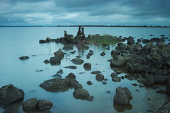 Stacked (stevecart84) Tags: rock water colac lake longexposure clouds meredithpark outdoors nature nikin d7200