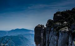 Not Long Now!! (BGDL) Tags: lightroomcc nikond7000 bgdl landscape afsnikkor18105mm13556g montserrat montserratmonastery viewpoint cross
