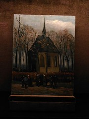 (emptinessisfillingme) Tags: vangogh museam italy painting art red moulin