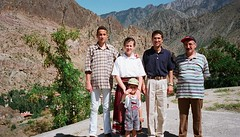 Hatice ile Halil İbrahim'in Yusufelindeki evi, oğulları Teoman ve Abdulkuddus