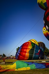Wrangler (Notkalvin) Tags: hotair balloon howell wrangler michigan notkalvin mikekline notkalvinphotography outdoor colorful festival bluesky leisure