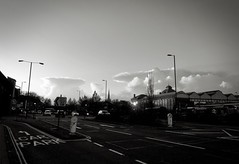 115/365 Clouds (denise.ferley) Tags: city citylife clouds sky bw blackandwhitephotography cityscape norwich england 365 3652017 uk urban thisisengland streetphotography street sonynex5
