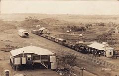 Mining town of Selwyn, Qld - 1913 (Aussie~mobs) Tags: selwyn vintage queensland australia mining township abandoned 1913 railway railwaystation train
