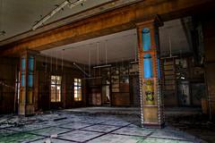KSES_0900 (superhotze) Tags: kindersanatoriumerichsteinfurth lostplace canoneos7d gebäude speisesaal ruin ruine