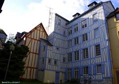 Les colombages bleus (Barnie76@ ,Peu dispo) Tags: vieuxquartier rouen saintmaclou ville colombages seinemaritime normandie bleu