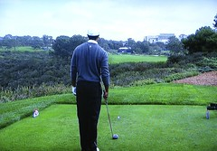 Torrey Pines GC (South), Hole #13 - Tiger Woods (rbglasson) Tags: california golf landscape tv torreypines lajolla canons5is