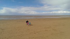 Hoylake Beach (Turkinator) Tags: chris beach emily sophie hoylake ianjamesturk