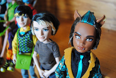 2013-05-26 Monster High Boys (8) (CharlieMarlowe) Tags: mattel gloombeach monsterhigh jacksonjekyll clawdwolf sweet1600