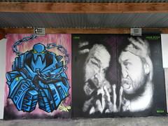 Upfest Bristol 2013 - Snub, Leeks & Fetch (Sa//y) Tags: streetart art bristol graffiti fetch leeks spraycan snub upfest 2013