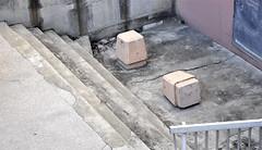 Wut (IamBen.) Tags: urban destruction montpellier beton kaputt poller