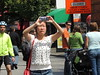 Dumb Phone in the Air (knightbefore_99) Tags: commercialdrive vancouver eastvan bc carfreedays street candid zoo city thedrive alien call stupid dumb cell mobile idiotic