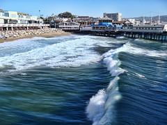 Ocean Waves (Ken Templeton) (KenLV) Tags: ocean california trip travel sea vacation art beach nature beautiful canon photography pier waves pacific unfound olympus dslr manhattanbeach westcoast topaz autofocus cs6 t2i photocontesttnc13 kentempleton