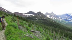 movie: above Elizabeth Lake (jcoutside) Tags: montana backpacking glaciernationalpark
