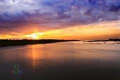 Rise at the Backwater (SouSuBe) Tags: beach sunrise landscape paradise pondicherry chunambar soumyasumitrabehera sousube
