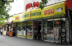 99 Discount Center (neppanen) Tags: usa eastvillage newyork america store manhattan cent 99 storefront 99centstore 99cent discounterintelligence sampen
