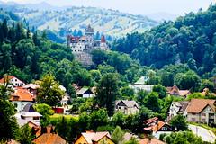 The castle from afar (kimbar/Thanks for 2 million views!) Tags: castle romania transylvania brancastle worldtrekker outstandingforeignphotographersvisitingromania