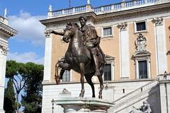 542. Outside the Comune di Roma. Rome, Italy. 10-Aug-13 (paulfuller128) Tags: italy holiday rome roma florence scenery italia vespa roman tuscany firenze siena cortona ilrondo
