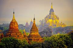 Misty Dawn 6 (Artypixall) Tags: mist texture sunrise pagoda burma getty myanmar bagan faa stupas