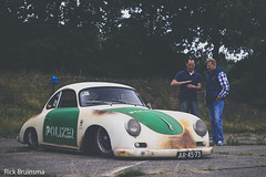 """""""Porsche"""" 356 - Polizei (Rick Bruinsma) Tags: rat air low beetle meeting replica porsche static polizei coupe 356 aircooled cooled kafer airmighty volkstyle"""