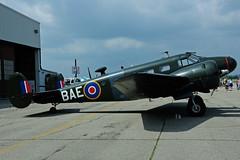 C-GZCE (BAE) (Steelhead 2010) Tags: beechcraft b18 canadianwarplaneheritagemuseum creg cwhm yfd cgzce