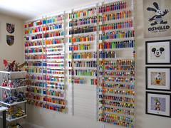 PEZ wall (WEBmikey) Tags: pez toys toymuseum