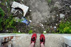you haven't earned it yet... (Jukie Bot) Tags: abandoned walking pennsylvania empty pa emptiness leftbehind floodplain delawarecounty delco wadnering belowthefall