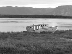 Better Days (C.J.Marcolini (Photo Hack)) Tags: old newfoundland boat ruin shipwreck wreck runaground