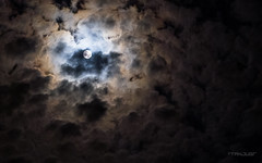 Moon (tanjugr) Tags: cloud moon cold night clouds landscape grain istanbul ay manzara mehtap