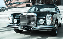 1965 W108 250SE (Umesh L) Tags: nikon sigma autoshow mercedesbenz srilanka 18200mm mercedesbenzpageant2013