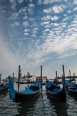 Gondole in Piazza San Marco (Alessandro Ghignone) Tags: venice nikon san marco piazza polarizer d90 18105mm