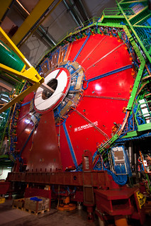 CERN: CMS - the big red plate