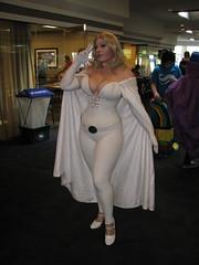 BelleChere as Emma Frost (FranMoff) Tags: costume bellechere emmafrost costumer whitequeen granitestatecomicon2013 granitecon2013