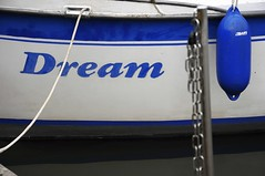 9 years flickr member (LL) Tags: blue white boat flickr dream 9 flickrversary years member