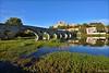 Béziers, la cathédrale St Nazaire, le Pont Vieux, l'Orb et ...... la Jussie