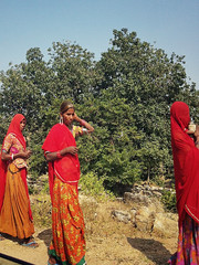 Unterwegs. Das ländliche Indien.